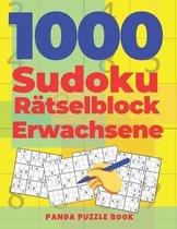 1000 Sudoku Ratselblock Erwachsene