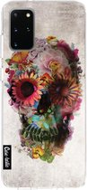 Samsung Galaxy S20 Plus hoesje Skull 2 Casetastic Smartphone Hoesje softcover case