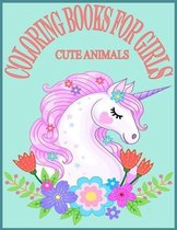 Cute Animals Coloring Books For Girls