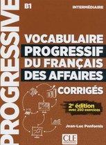 Vocabulaire progressif du français des affaires - 2e édition - niveau intermédiaire