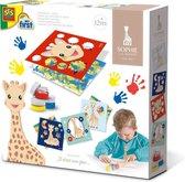 Sophie la girafe - Vingerverf kaarten