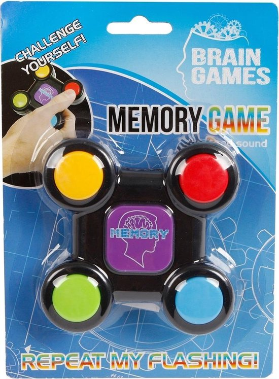 Afbeelding van het spel Brain Games Breinbreker Memory Junior 8 Cm