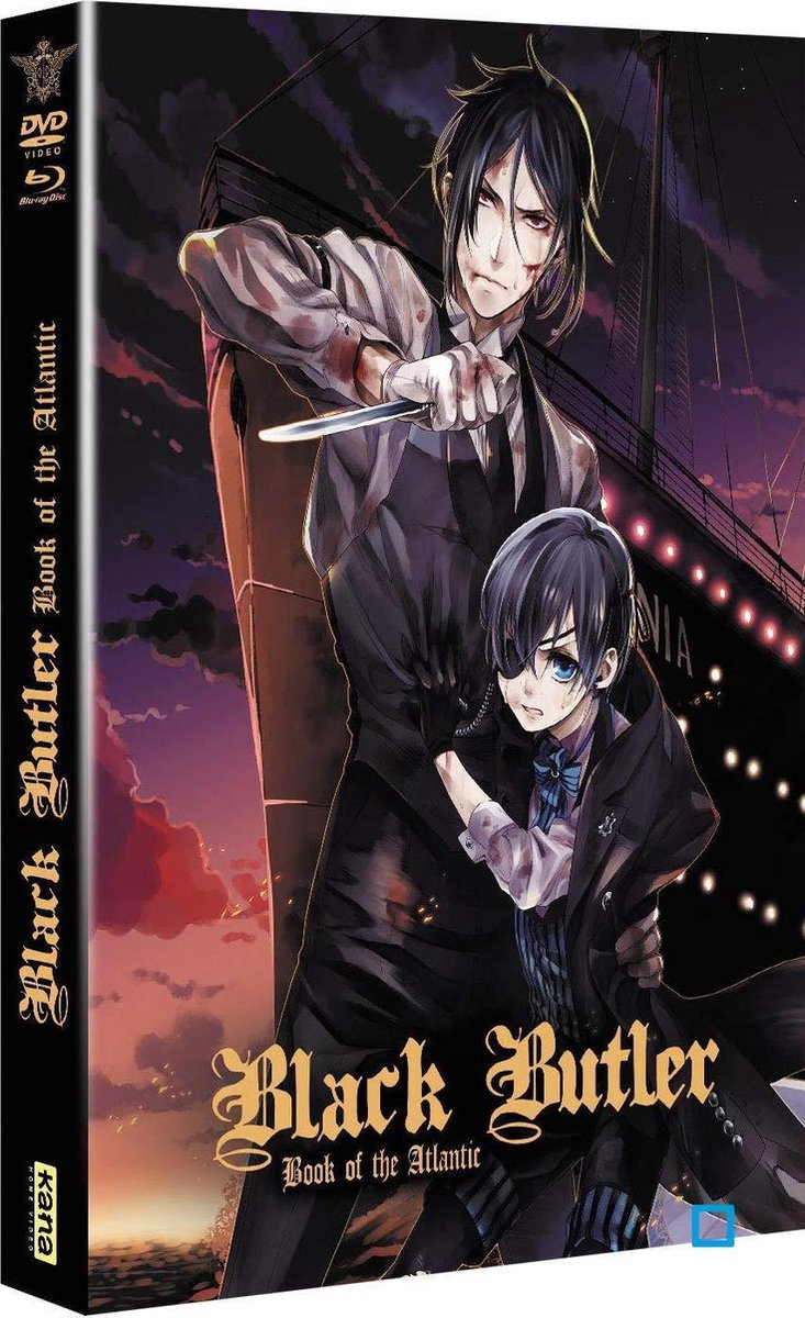 Black Butler - Book of the Atlantic - Edition Limitée Combo Blu-ray + DVD-