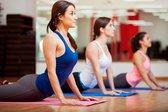 Q4life Sport Fitnessmat - 172 cm x 61 cm x 0.4 cm – Yoga mat - Inclusief draagriem - workout en Yoga - ANTI Slip mat - Trainingsmat – 100% Huidvriendelijk & Duurzaam - Blauw