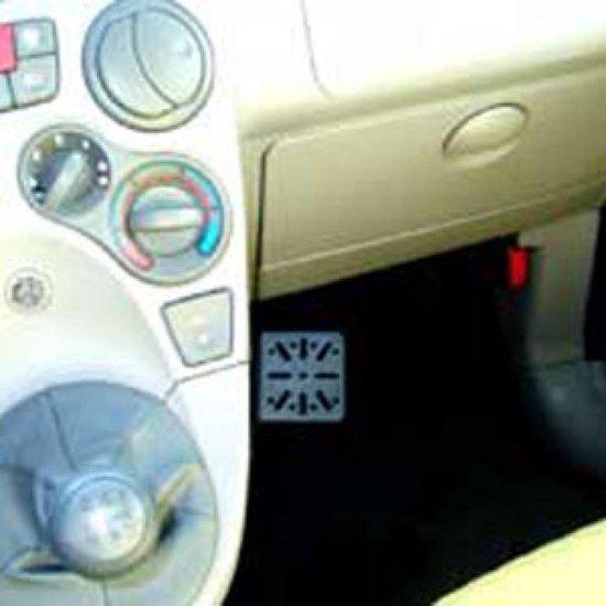 Houder - Dashmount Fiat Panda 2003-2007