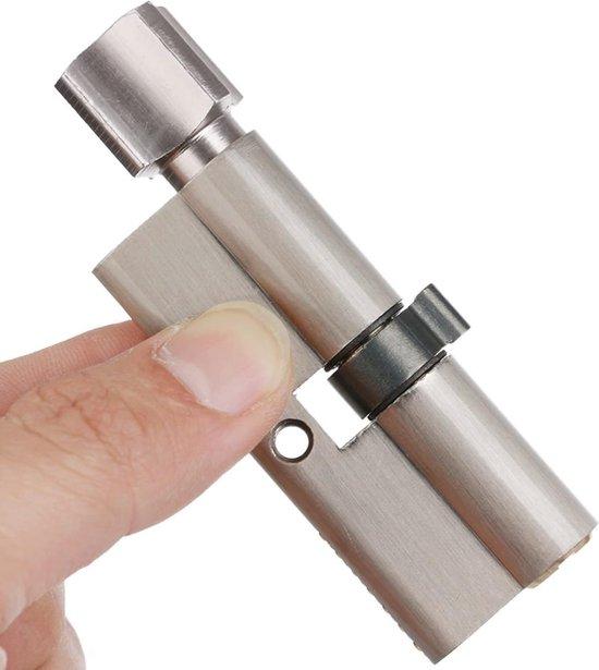 WiseGoods Deurcilinder Set - Deurslot - Slot Vervangen - Anti-Diefstal - Home Security - Lock Cilinder - 3 Sleutels