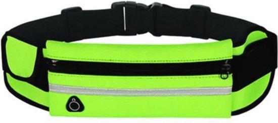 Sens Design hardlooptasje telefoon heuptasje sport running - groen