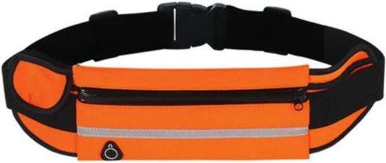 Sens Design hardlooptasje telefoon heuptasje sport running - oranje