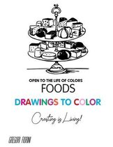 Drawings To Color - Food - Creating is Living!