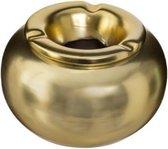 Gouden Keramische Asbak - Voor Binnen en Buiten -