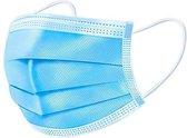 50 mondkapjes | 3 laags | Oor bevestiging | Niet-medisch, geschikt voor OV