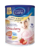 Weight Care Milkshake Drinkmaaltijd - Aardbei - 436 gram -  16 maaltijden
