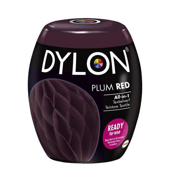 DYLON Wasmachine Textielverf Pods - Plum Rood - 350g