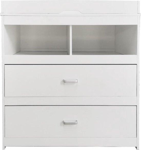 Product: VDD Pukkie Commode Aankleedtafel - Wit, van het merk VDD