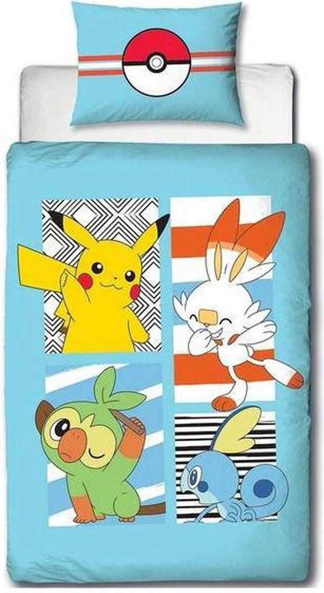 Pokemon Dekbedovertrek 135x200 Polykatoen kopen