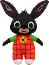 Bing knuffel 25cm|ORIGINEEL|Knisper in oren|Bing en Flop van tv|Bing het konijn|speelgoed voor kinderen|