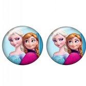 Clip Oorbellen- Anna en Elsa- 14 mm- Kinderen- Disney