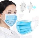 Mondkapje - wasbaar mondmasker - gezichtsmasker | zwart