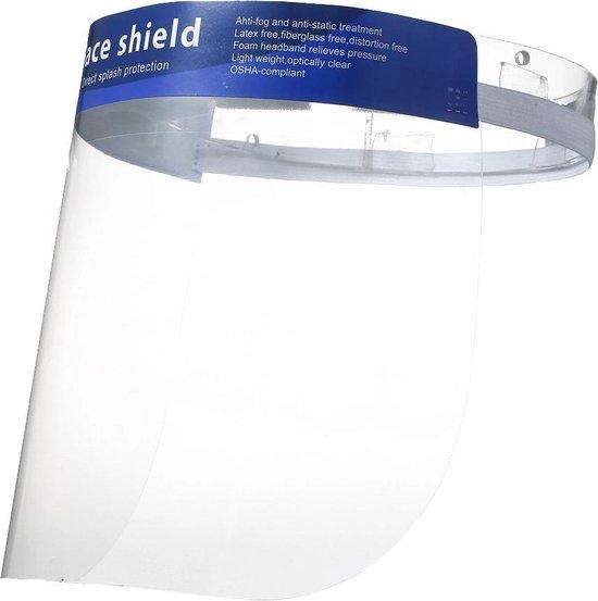 Spatmasker - Herbruikbaar - Comfortabel - Geschikt voor brildragers - 1 stuks
