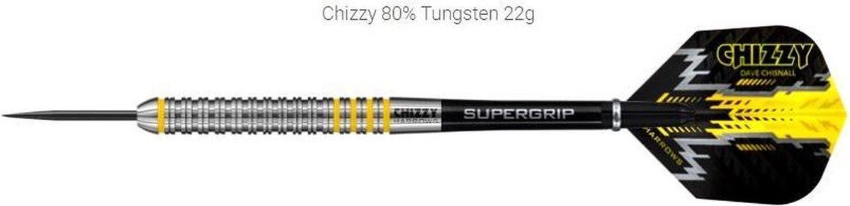 Harrows Dartpijlen Chizzy 80% Tungsten Steeltip Gewicht 24