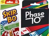Skip-Bo & Phase 10 - Duo pack - Kaartspel - Mattel