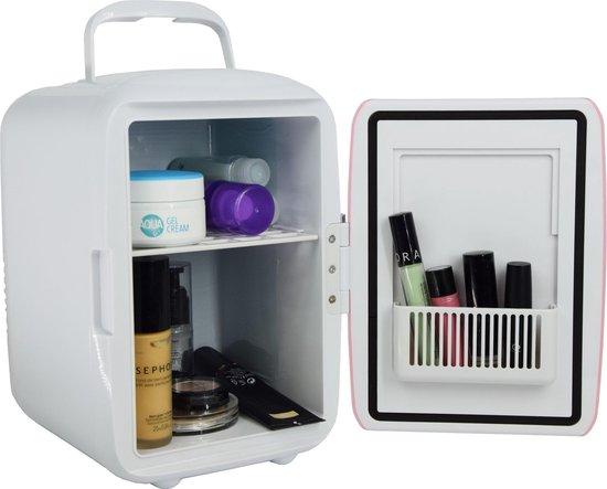 Koelkast: Peach Beauty Mini Makeup Koelkast Roze - Skincare Fridge - 4 Liter, van het merk Peach Beauty