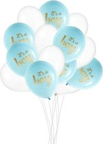Babyshower Versiering Jongen - It's a Boy Ballonnen - Geboorte Versiering Jongen