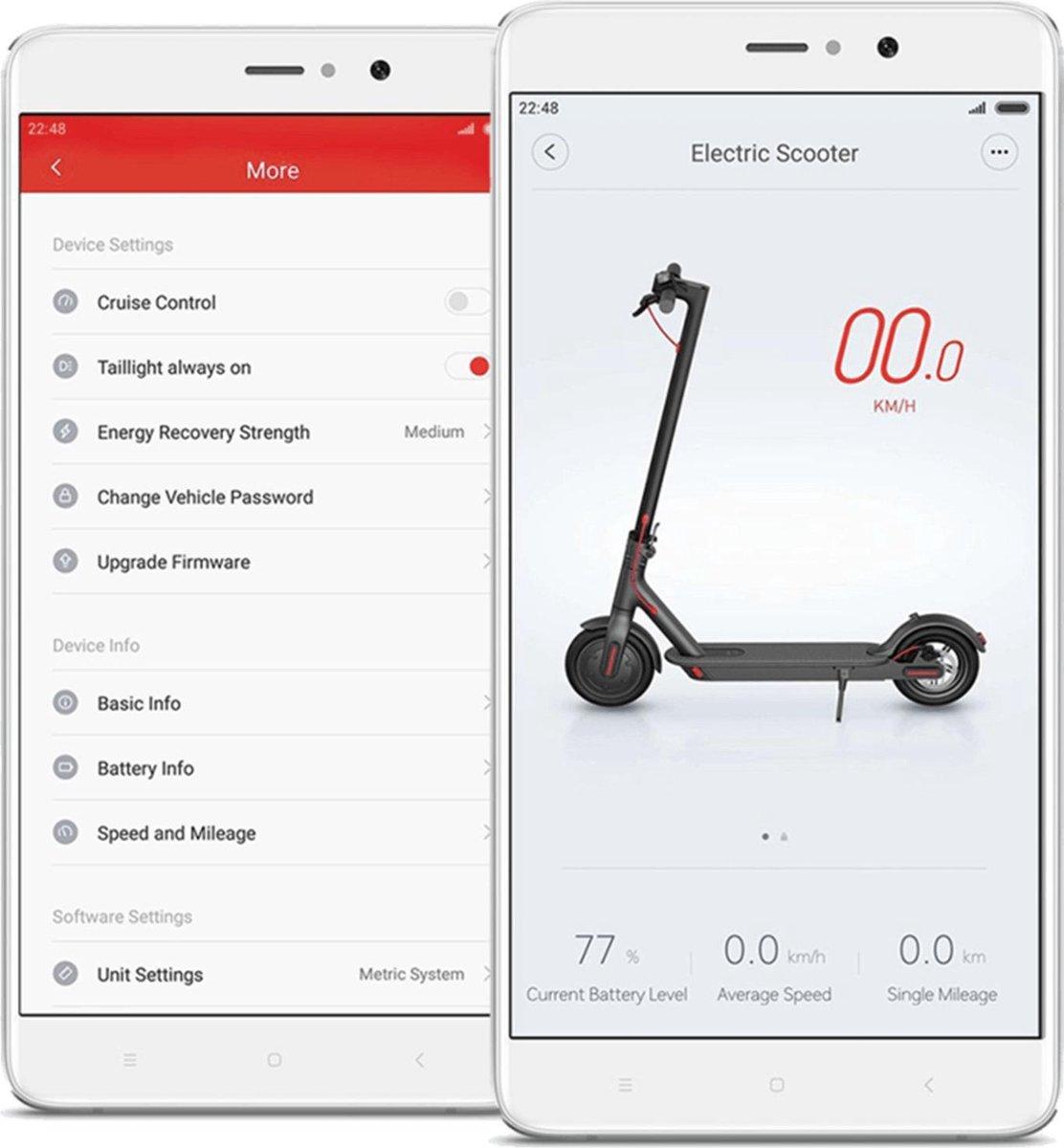 Xiaomi M365 PRO VERSION E-scooter - elektrische step - zwart