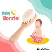 Houten Baby Borstel - Haarborstel