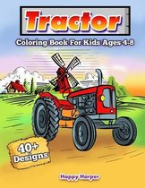 Tractor Coloring Book