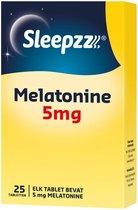 Sleepzz Melatonine 5mg  Voedingssupplement - 25 ta