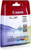 Canon CLI-521 - Inktcartridge / Cyaan / Magenta /