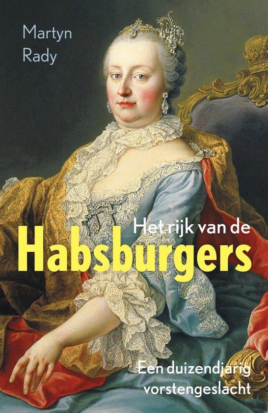 Boek cover Het rijk van de Habsburgers van Martyn Rady (Onbekend)