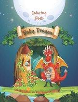 Baby Dragon Coloring Book
