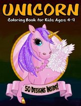 Unicorn Coloring Book for Kids Ages 4-9