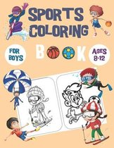 sports coloring books for boys ages 8-12