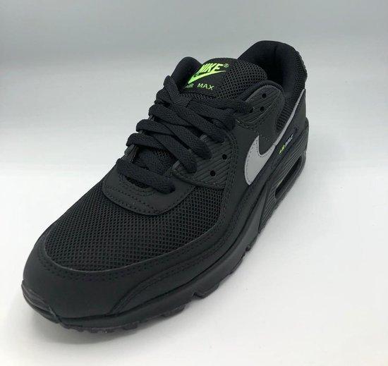 Nike Air Max 90 - Black/ LT Smoke Grey-Volt - Maat 42