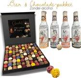 Mannen cadeau pakket Chocolade & Rituals. Handgemaakte chocolade in luxe verpakking met geur en smaak. Ideaal cadeauset voor mannen, vaderdag, verjaardag