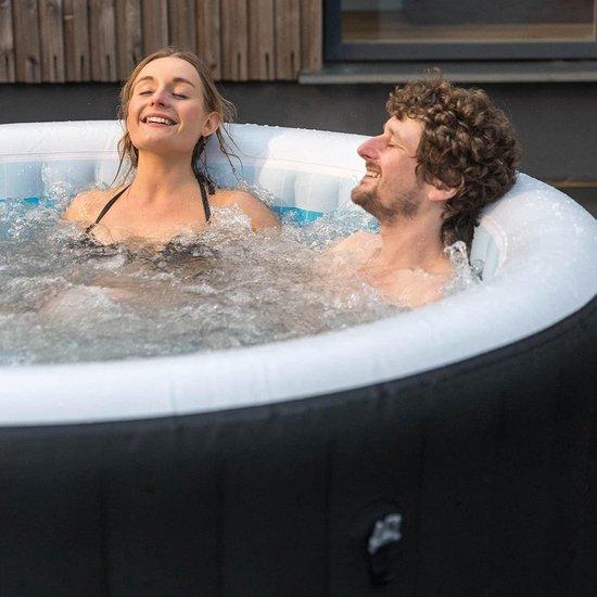 Bestway Lay-Z-Spa Maimi JumboJet 2019 - Jacuzzi - Opblaasbaar - Zwembad - Hottub - Zwembadbescherming - Massagefunctie - Zwart - 180 x 66 cm