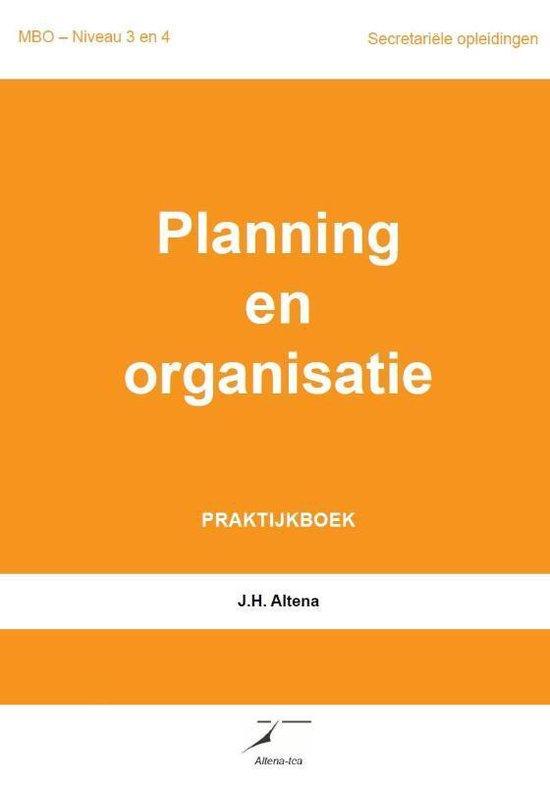 Planning en organisatie - J.H. Altena  