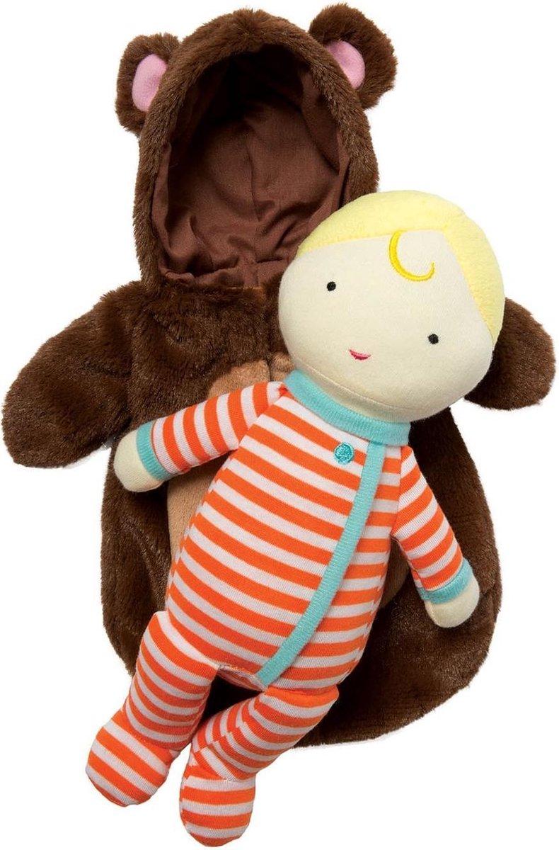 Manhattan Toy Babypop Snuggle Bear Meisjes 38 Cm 2-delig