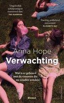Boek cover Verwachting van Anna Hope (Paperback)
