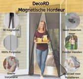 Insectenhor - Magnetische - Anti-Insect - Hordeur - Horrengaas - Vliegendeur - Hor - Vliegengordijn - Vliegen Gordijn Voor Deuren - 100 x 210 cm