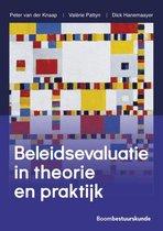 Boek cover Beleidsevaluatie in theorie en praktijk van Peter van der Knaap