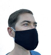 Mondmasker 100% Katoen – Wasbaar – Mondkapjes – Mondkapje – Niet Medisch - Zwart