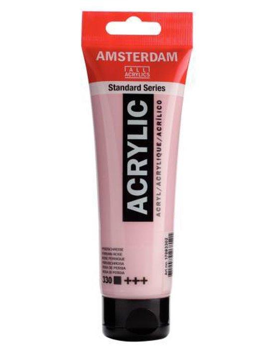Amsterdam Standard Acrylverf 120ml 330 Perzischroze
