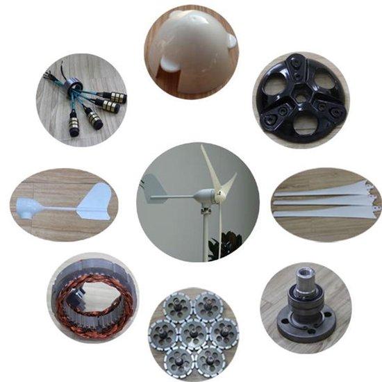 Windturbine 12 V 400W - Windmolen - Generator - 5 Bladen