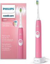 Philips Sonicare ProtectiveClean 4300 HX6805/28 - Elektrische tandenborstel - Roze