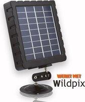 Zonnepaneel voor WILDPIX Wildcamera's inclusief Voeding - X1 - Pro 1.0 - Pro 1.3G - Wildlife Camera