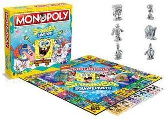 Afbeelding van het spel Spongebob Monopoly Board Game